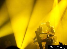 Stromae en concert au Festival Montréal en lumière.
