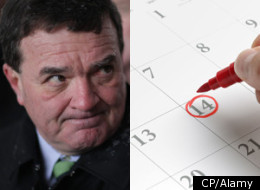 The 2012 Canada budget is being delayed largely due to economic troubles in Europe, according to federal Finance Minister Jim Flaherty. (CP/Alamy)