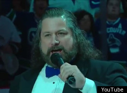 Vancouver Canucks anthem singer Mark Donnelly went on the HCG diet.