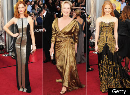 Here's what the Twitterverse had to say about The Academy Awards' wardrobes.