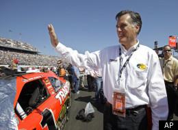 Mitt Romney at the 2011 Daytona 500