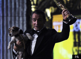 Jean Dujardin was one of Oscar night's big winners