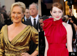 Meryl Streep and Emma Stone