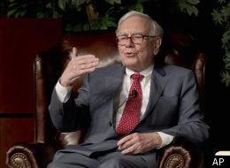 Billionaire investor Warren Buffett speaks in Omaha, Neb., Monday, Nov. 14, 2011, at an event to raise money for the Girls Inc. charity organization. (AP)