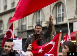 Une manifestation pro-Turque à Paris