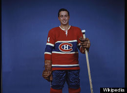 Canadiens legend Jean Beliveau has been hospitalized after a stroke.