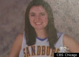 Kathleen Mulvey, who left Carl Sandburg High School after excessive bullying from her basketball teammates.
