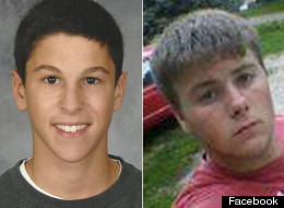 Daniel Parmertor (left) and Russell King, Jr. were two students killed in a shooting at Chardon High School on Monday.