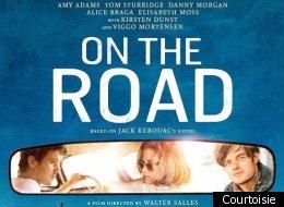 L'affiche internationale du film On the Road. (Photo Courtoisie)