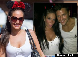 Tulisa and Mark Wright