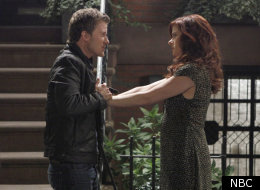 Will Chase and Debra Messing in