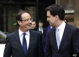 Francois Hollande and Labour leader Ed Miliband met on Wednesday