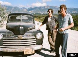 Sam Riley et Garrett Hedlund, sur la route