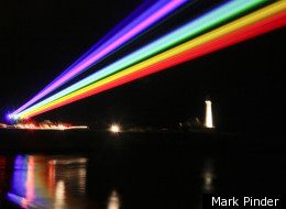 Yvette Mattern's Virtual Rainbow Shines Over Tyneside