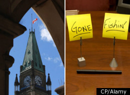 NDP leadership contenders dominate the list of MPs with the worst attendance records in Canada's House Of Commons. (CP/Alamy)