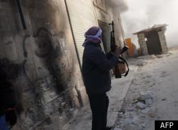 Un combattant en Syrie
