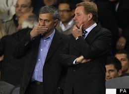 Jose Mourinho is believed to be named alongside Harry Redknapp and Pep Guardiola on the England managerial shortlist