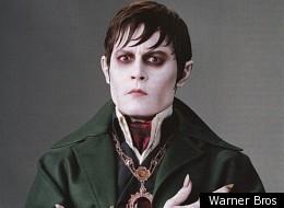 Johnny Depp stars in Tim Burton's latest gothic fantasy 'Dark Shadows'