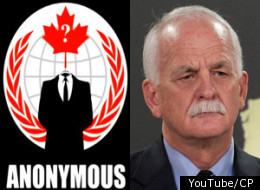 Anonymous has released a new video threatening to release more personal information about Vic Toews after the ouster of the Liberal staffer behind Vikileaks Adam Carroll. The video is party of Anonymous' ongoing OperationVicTory. (YouTube/CP)