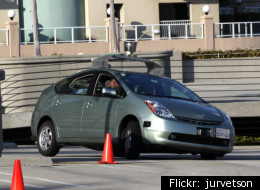 A new law in Nevada allows robots to get driver's licenses. Google sponsored the bill so that it would have plenty of open space to test its robo-cars.