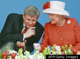 Chantal Dupuis, a Montreal resident, wrote the Queen in December requesting she remove Harper from his position. (AFP/Getty Images)