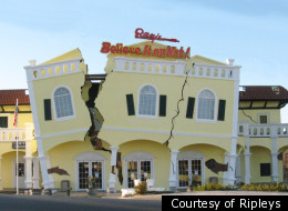 Although a tornado blew through Branson, Mo., earlier this week, this Ripley's Odditorium was unaffected. Not that you can tell.