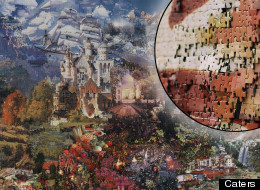 Gerhard Mayer's jigsaw landscapes