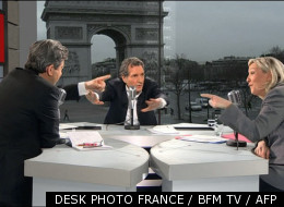 DESK PHOTO FRANCE / BFM TV / AFP