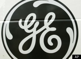 The General Electric logo is seen on the side of an appliance repair van, Friday, Oct. 15, 2010, in a Pittsburgh Home Depot store. (AP)