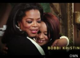 Oprah comforts Bobbi Kristina on her show