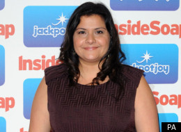 Nina Wadia reveals breakdown on EastEnders set
