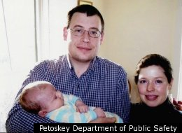 An undated photo of the Medsker family taken from their missing person poster.