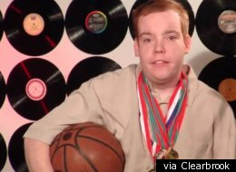 A Clearbrook client and Special Olympics champion.