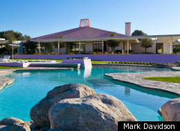 Sunnylands, the former home of Mr. and Mrs. Walter Annenberg in Rancho Mirage.
