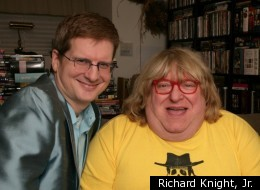 Richard Knight, Jr. (left), co-writer, co-director and co-producer of