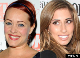 Sarah Cawood and Stacey Solomon
