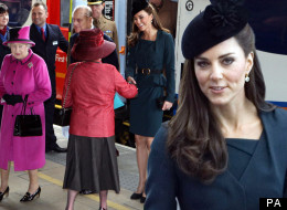 Queen Diamond Juibilee Tour: Kate Middleton And The Queen Visit Leceister De Montfort University