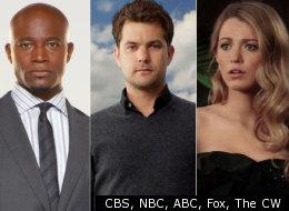 CBS, NBC, ABC, Fox, The CW