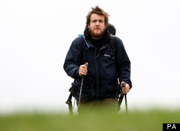 Matt Wallace Hasn't Shaved For Weeks During His Charity Walk Across The UK