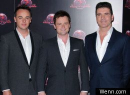 Ant, Dec and Simon Cowell are glad to see Red Or Black return