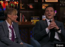 Nicole Richie and Sean Avery on 'Watch What Happens Live'