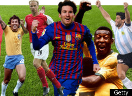 Select football's greatest number 10 in our new interaction feature