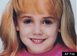 This is an undated photo of 6-year-old JonBenet Ramsey, who was found dead in the basement of her family's home in Boulder, Colo., Thursday, Dec. 26, 1996. (AP Photo/Boulder Police Department, FILE)