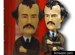 Bobblehead dolls of the man who assassinated President Abraham Lincoln have been pulled from sale at both the Abraham Lincoln Museum and Library in Springfield, Ill., and the Gettysburg National Military Park visitors' center bookstore.