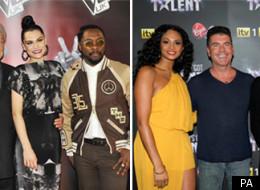 The Voice judges and Britain's Got Talent judges