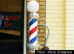 In many states, beauticians are getting snippy about the rights to display barber poles.