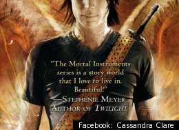 The book cover from Cassandra Clare's
