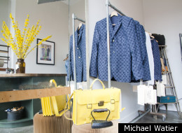 A sneek peek of Philip Sparks' new Toronto store and his spring 2012 collection.