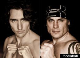 Justin Trudeau et Patrick Brazeau s'affronteront le 31 mars à Toronto.