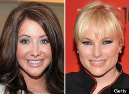Bristol Palin and Meghan McCain (Photos by Michael Loccisano and Stephen Lovekin, Getty Images)